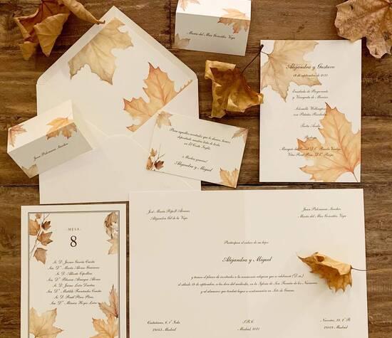 Invitarte otoño