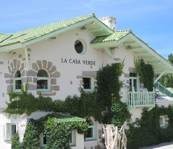 La Casa Verde, fachada frontal.