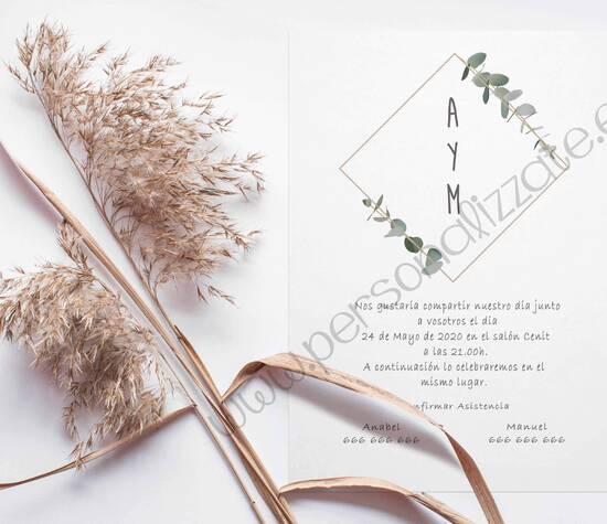 Personalizzate, Invitaciones de boda personalizadas
