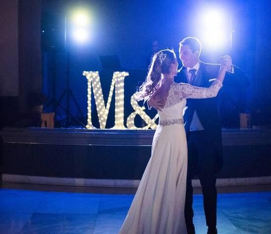 Baile novios Olatz y Mikel