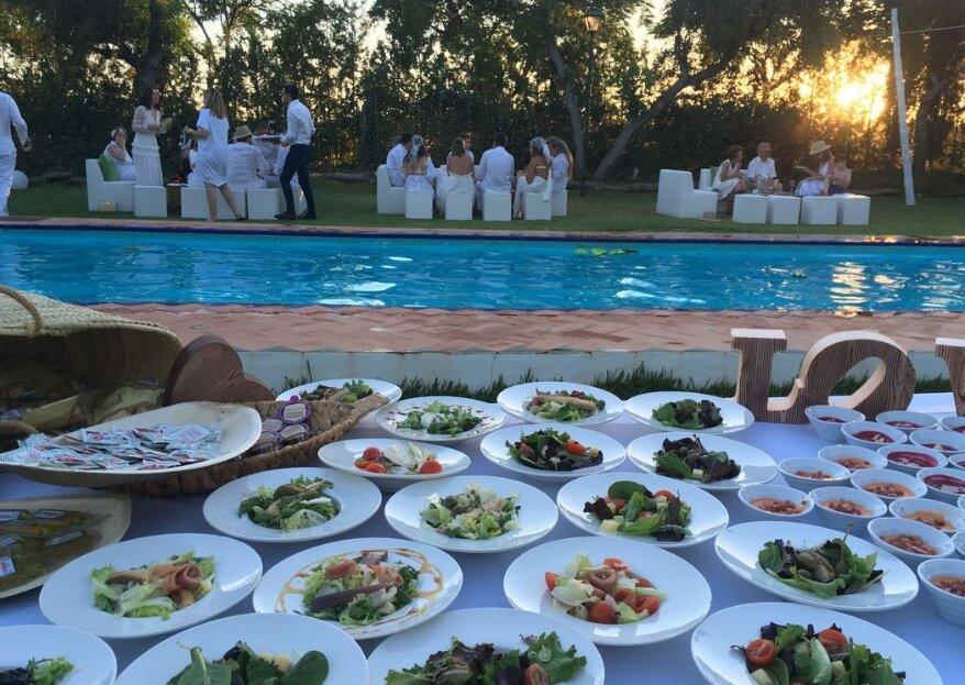 Verónica Catering: cuando la pasión se convierte en el ingrediente estrella para una boda