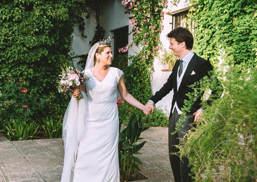 """""""El mejor y más importante día de nuestras vidas"""": la boda de Arturo y Candelaria"""