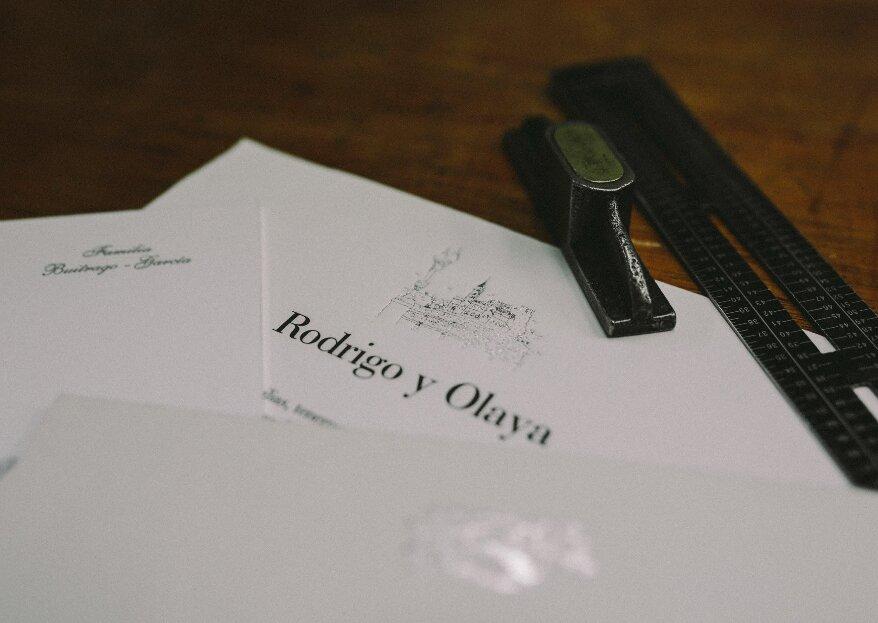 La Imprenta Vintage es magia artesana para dar un toque de distinción a tus invitaciones de boda