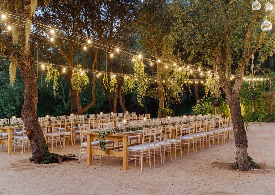 Mas de Sant Lleí: un lugar con encanto para tu boda en Barcelona