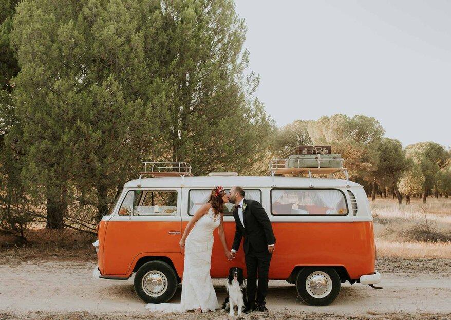 Cómo elegir el transporte para los invitados de la boda