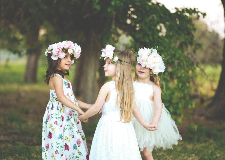 Cómo entretener a los niños en la boda en 5 pasos