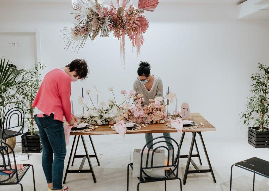 """Descubre el curso de """"Diseño y decoración de bodas"""" y fórmate con los mejores"""