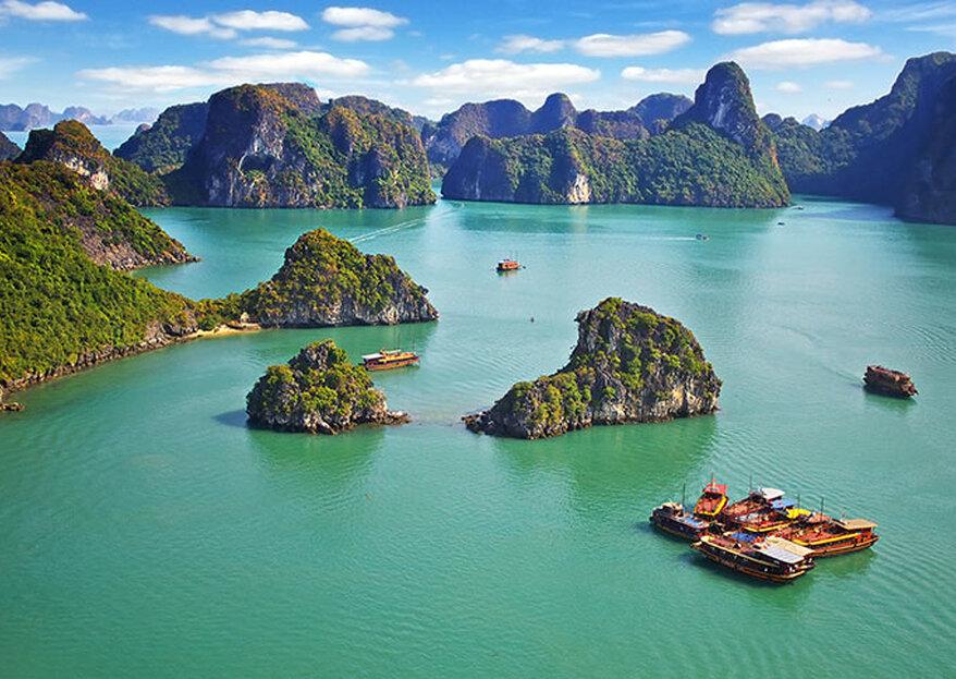 Luna de miel en Vietnam y Camboya: los destinos más exóticos