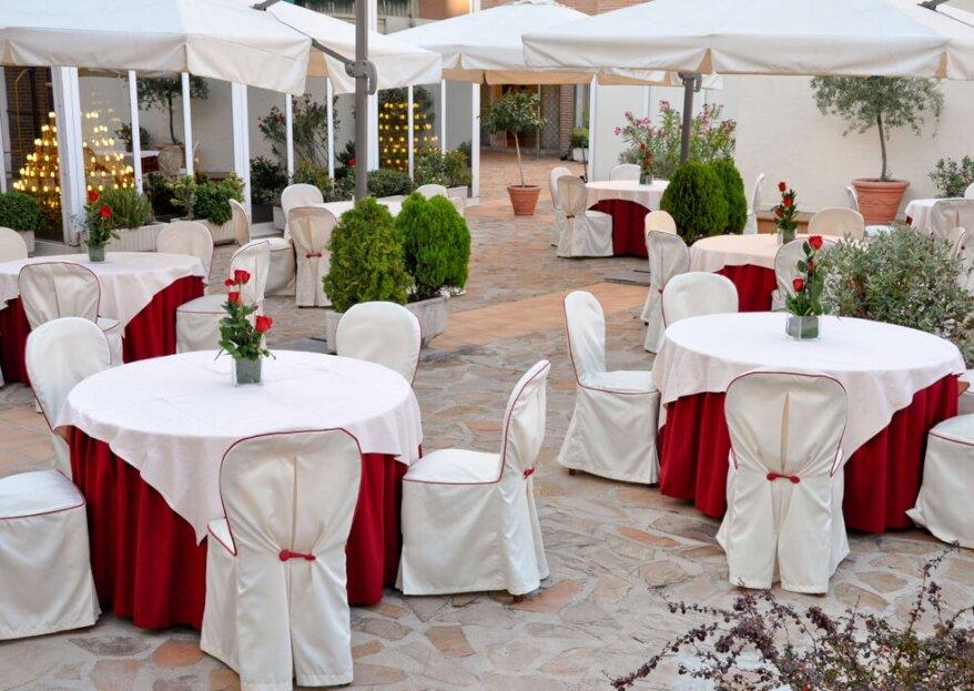 Hotel TRYP Madrid Leganés: el perfecto hotel para tu boda en exterior e interior