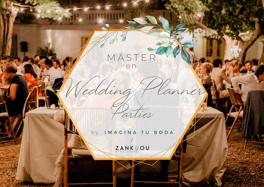 Un sueño hecho realidad: tu máster en Wedding Planner & Parties gracias a Imagina tu boda