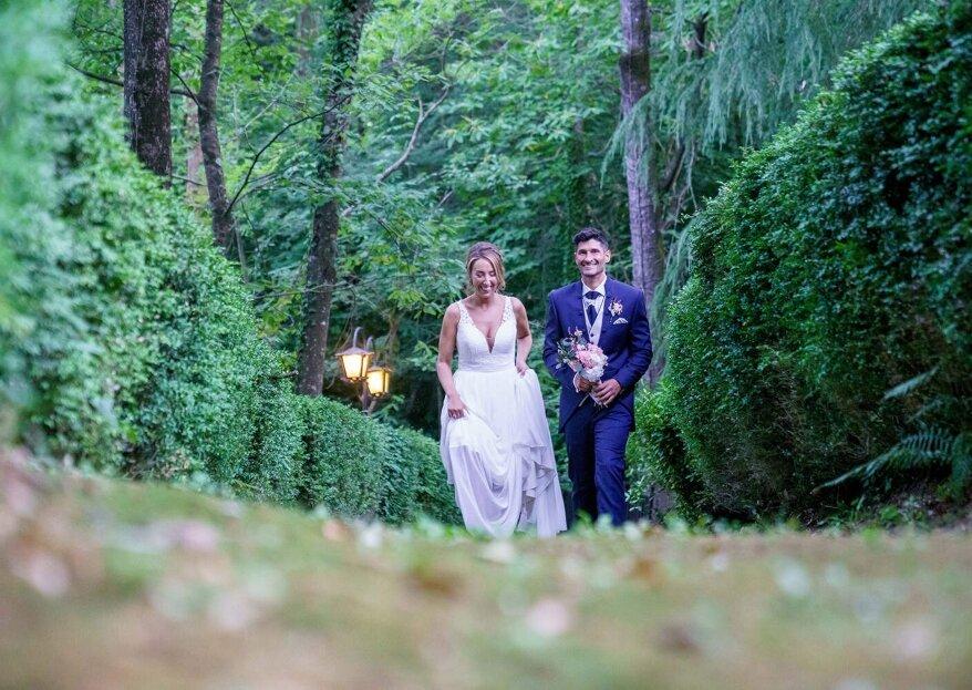 Una gran fiesta: la boda de Débora y Toni