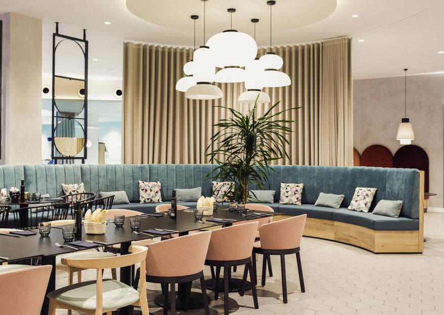 Hotel Novotel: calidad y excelencia en vuestro 'día B'