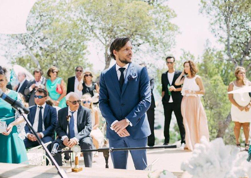 Cómo elegir el traje de novio en 5 pasos