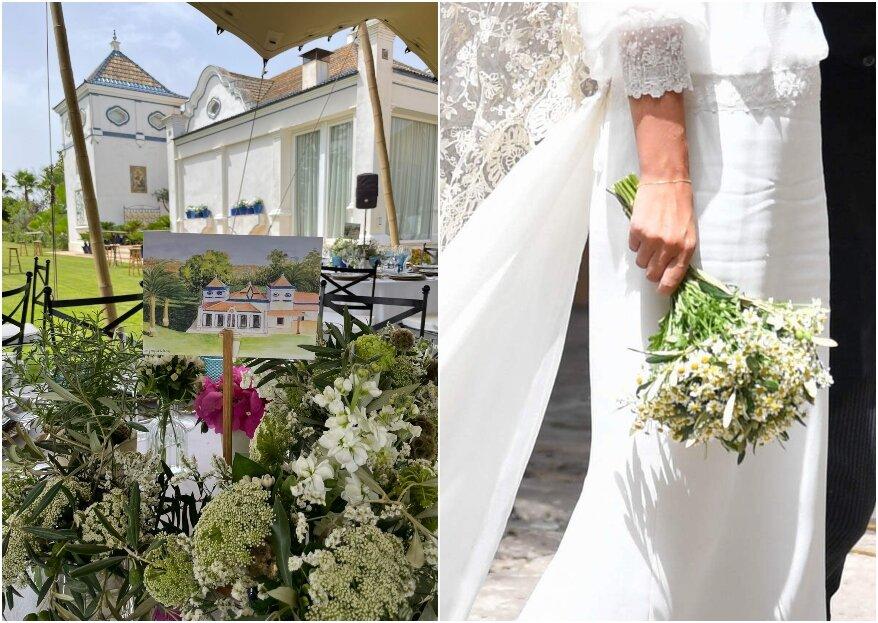 Llena de color y armonía tu boda con La Esencia de la flor