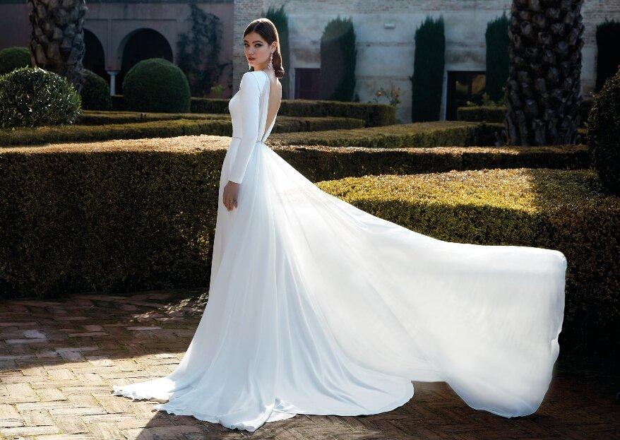 Atlantis es la colección de novias de Valerio Luna más elegante