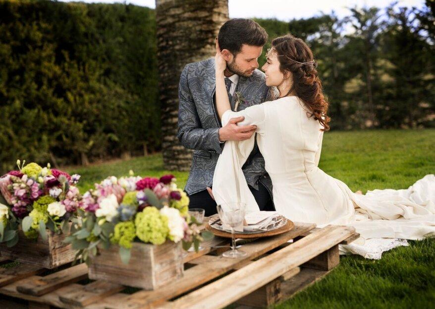 In The Old Days Weddings: bodas ambientadas en épocas antiguas para viajar en el tiempo
