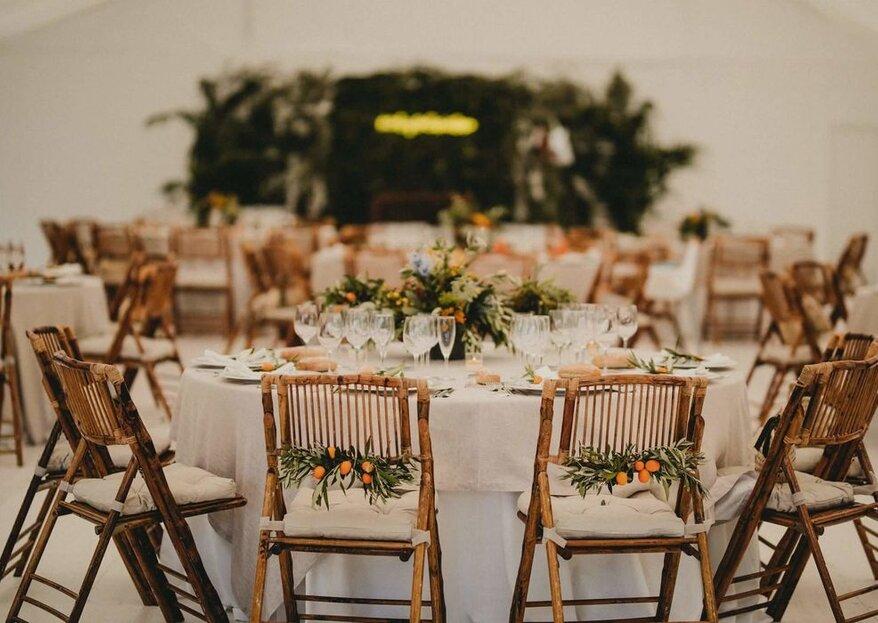 12 aspectos a tener en cuenta para que la mesa de la boda sea perfecta