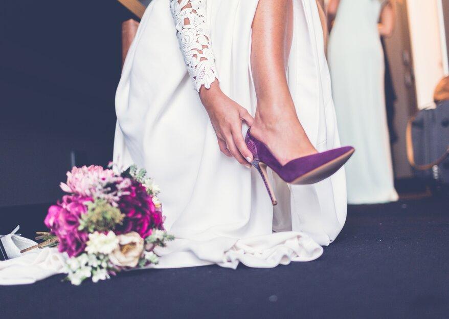 Cómo elegir los zapatos de novia en 5 pasos