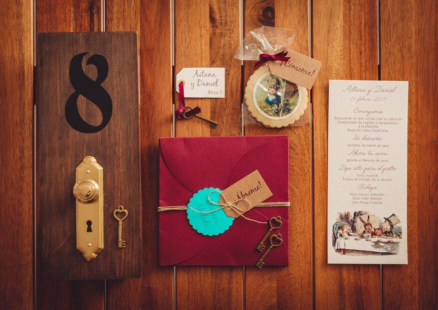 Invitaciones de boda originales: ideas de diseño y texto