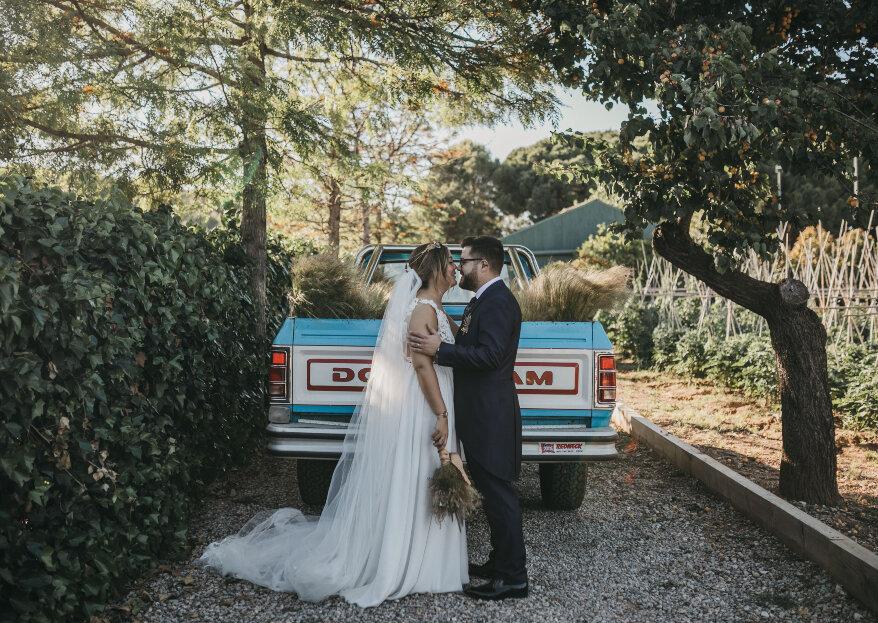 Mágica, romántica y muy flamenca: la boda de Mery y David
