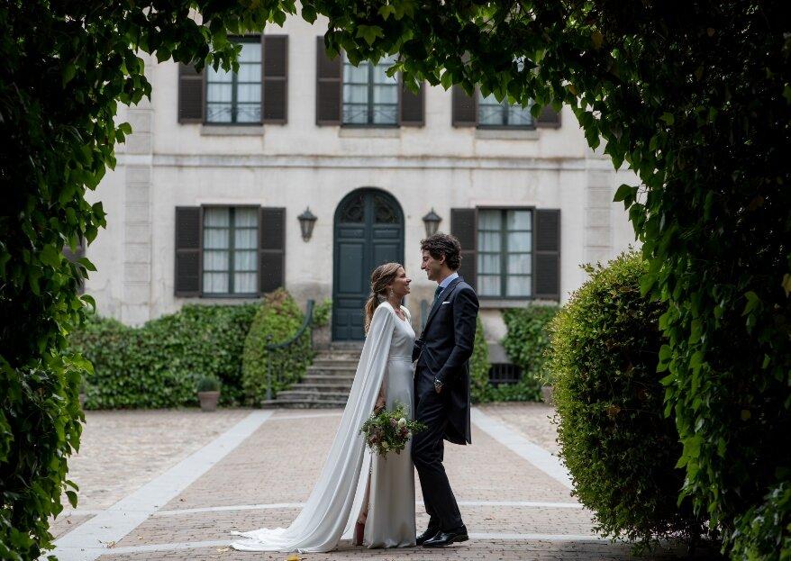 Felicidad plena en Palacio del Negralejo: la boda de María y Pedro
