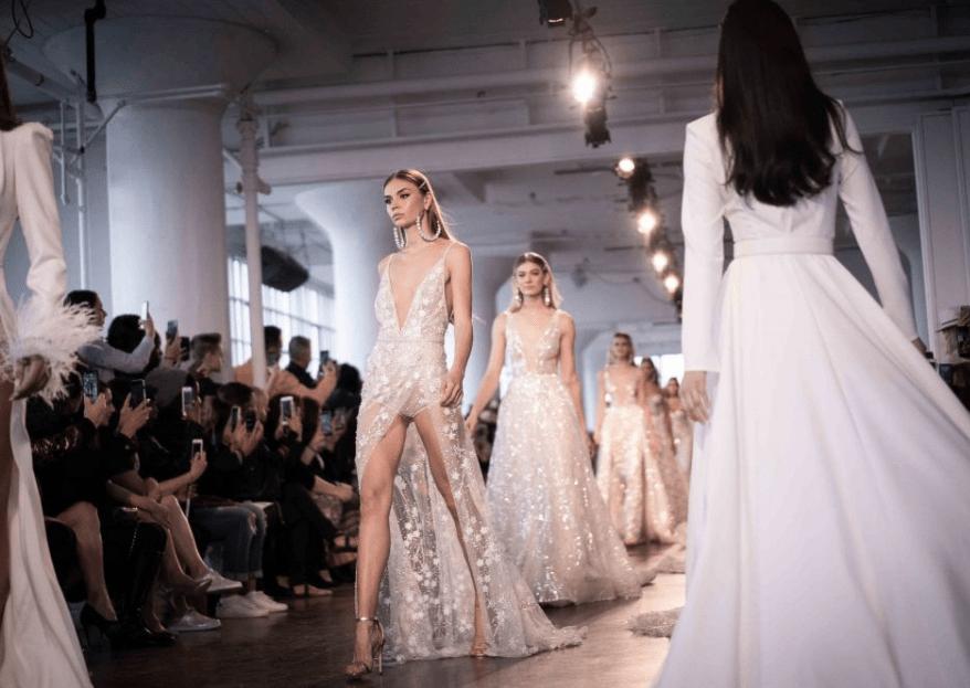 New York Bridal Fashion Week 2019: las 5 tendencias nupciales que triunfan