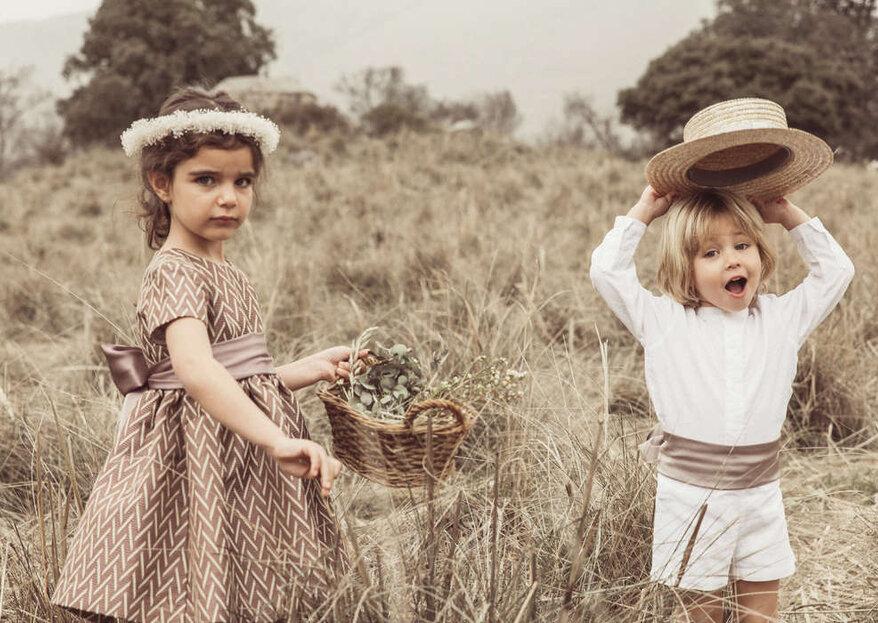Cómo vestir a los niños para una boda en 5 pasos