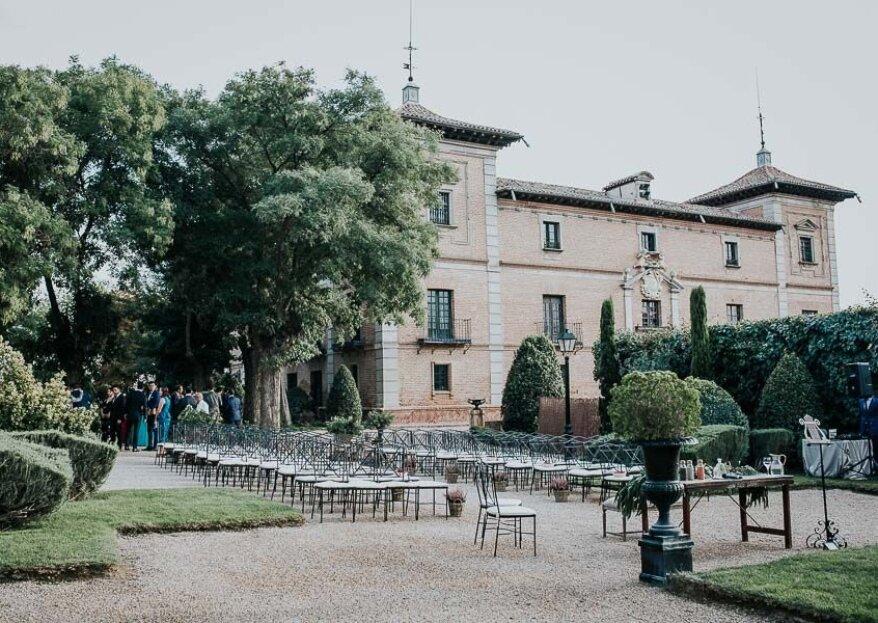Palacio de Aldovea: un clásico nupcial que colecciona éxitos sin pasar de moda
