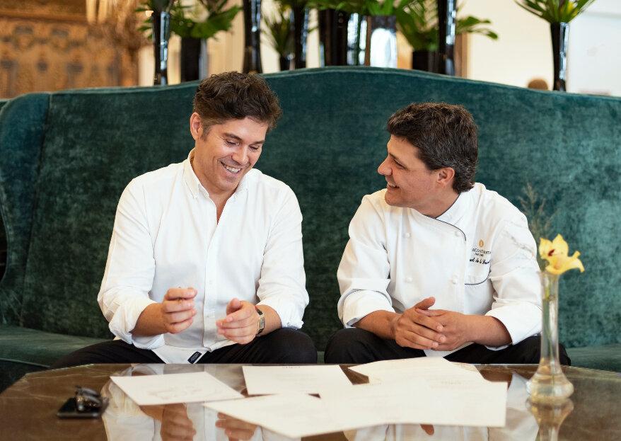 Asistimos a la presentación del menú Alta Costura de Jorge Vázquez en el InterContinental de Madrid