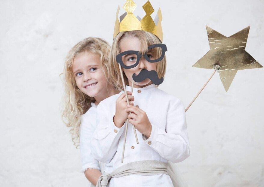 Quémono: ropa de ceremonia para niños felices