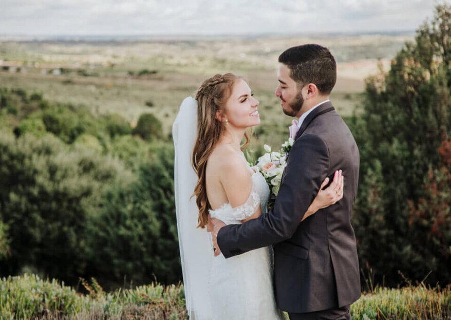 Madrid les unió para siempre: la boda de Natalie y Jessid