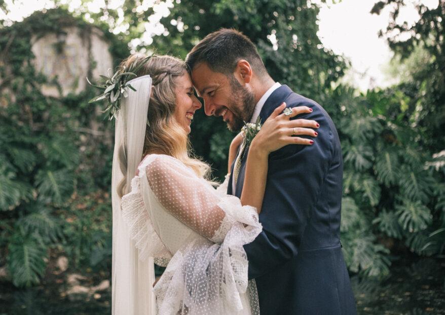 Felicidad constante: la boda de Aranza y Rafa