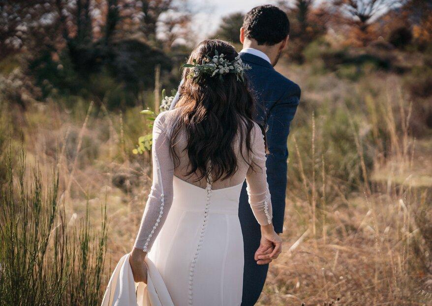 Una boda íntima, invernal y muy romántica: Érika y Diego por White Camera