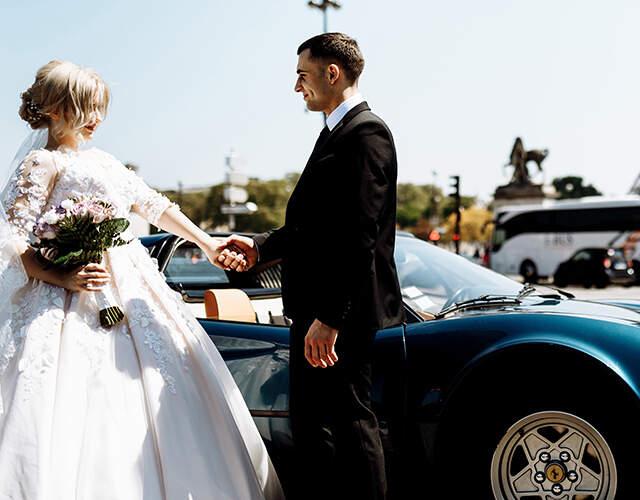 Transporte para bodas en Burgos