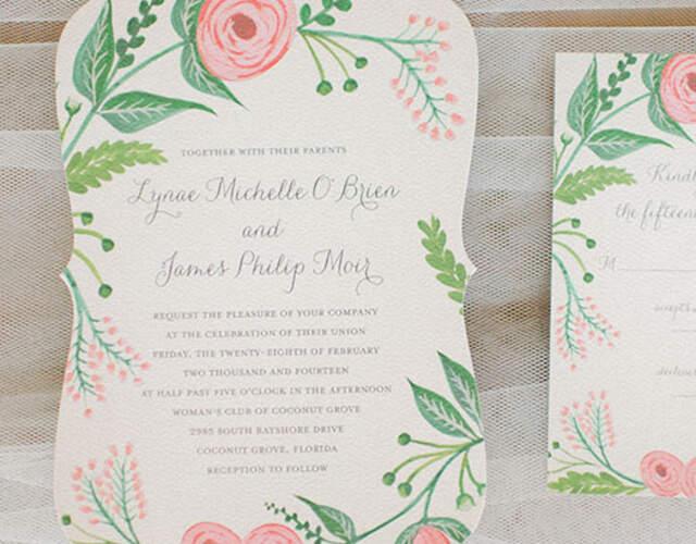 Invitaciones de boda en Málaga